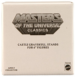 Castle Grayskull stands - Masters Of The Universe Classics