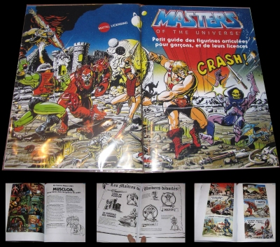 licensing kit he-man masters of the universe francais - www.maitresdelunivers.org www.musclor.fr.st