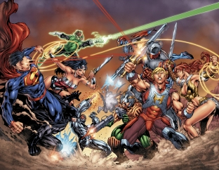 dc universe vs motu masters of the universe dc comics ongoing - www.maitresdelunivers.org www.musclor.fr.st